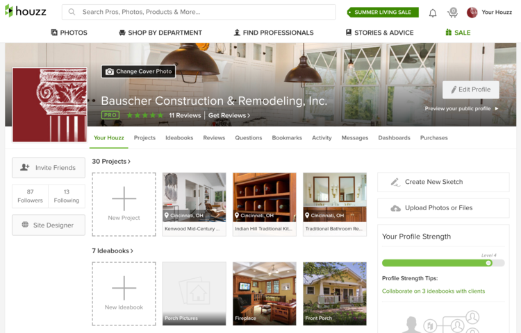 bauscher construction houzz help