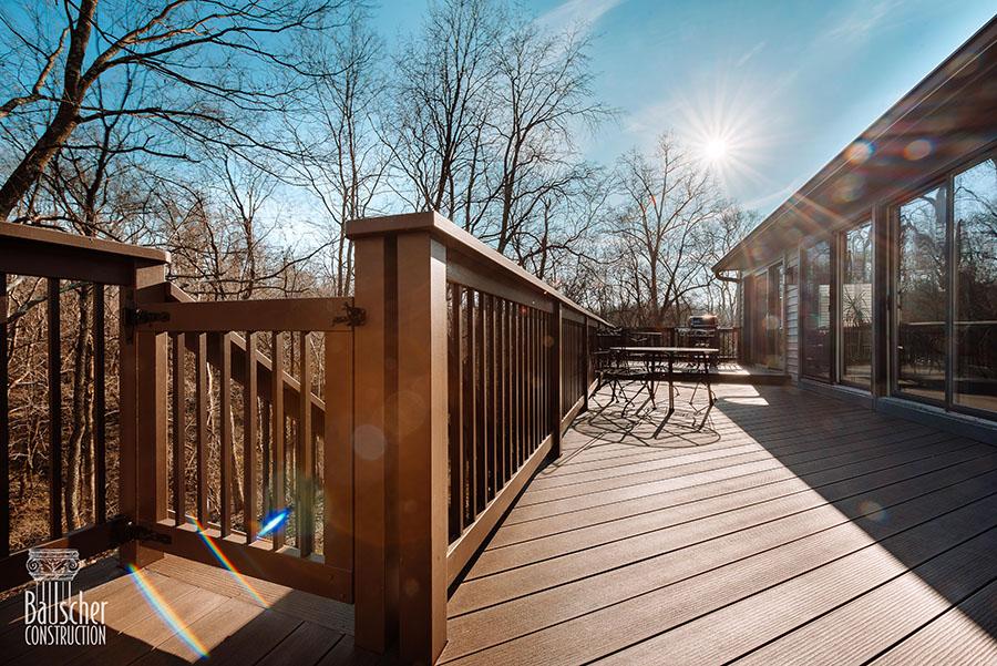 blue ash deck addition